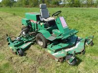 Ransomes T-51D Batwing Commercial Ride On Lawnmower 51HP Kubota Diesel Engine