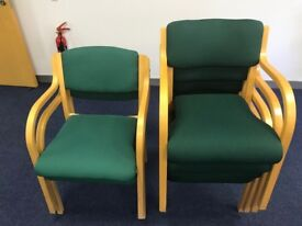 Set of 6 Boardroom chairs