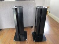 soundstyle z1 speaker stands high gloss black