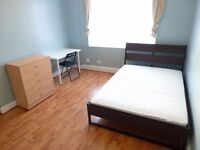 NICE SINGLE ROOM WITH DOUBLE BED IN NORTH ACTON - ZONE 2 - CENTRAL LINE