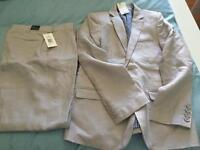 Boys Linen Suit Autograph M&S