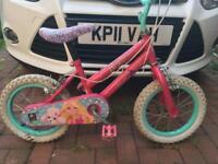 Barbie child's bike
