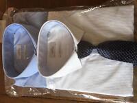 Next Men's Shirts and Tie set