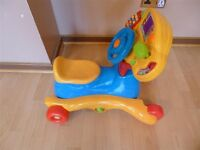 Vtech Grow & Ride - Ride On - Rocker - Detachable Play Tray - Excellent Condition