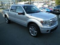 2014 Ford F-150 Limited 4x4 Crew 145wb Nav Leather Roof
