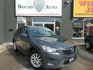 2014 Mazda CX-5 GX-B-TOOTH,C-CONTROL,ALLOYS,ACCIDENT FREE