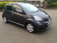 TOYOTA AYGO 5 DOOR 1L PETROL 71000 MILES 2009 GREY COLOUR 8 MONTH MOT ROAD TAX £20/- YEAR