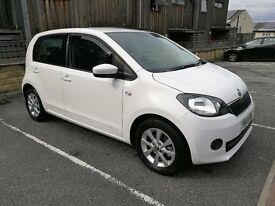 SKODA CITIGO (SAME AS VW UP & SEAT Mii) ELEGANCE 5DR GREENTECH 75PS SATNAV/CAM/HEATED SEATS/AIRCON
