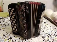 Accordion Scandalli 120 bass