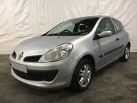 2007 Renault Clio 1.2 16v 3dr **Full Years MOT** Similar to Ford Fiesta Cheap...
