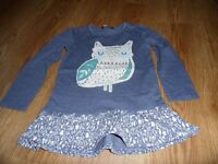 4 long sleeve girls dresses age 4-5 years
