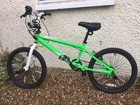 20 inch boys Zinc BMX bike