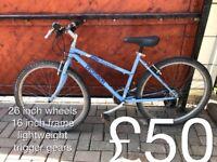 Ladies Mountain Bikes £40 - £320 mountain bike cycle commuter student mtb full working order