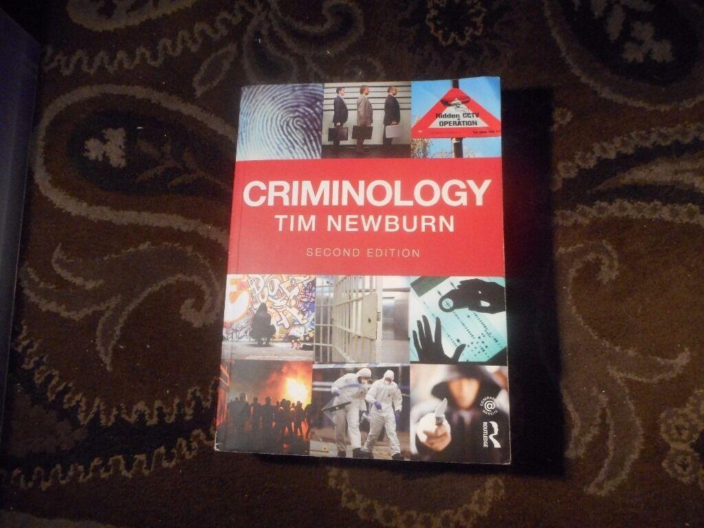Criminology: tim newburn: 9780415628945.