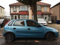 2002 DIESEL Vauxhall Corsa Hatchback CLUB. BRILLIANT DRIVE.LOW MILES. LONG MOT. E.W. 2 KEYS C/L.
