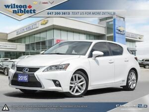 2015 Lexus CT 200h 1 OWNER, ACCIDENT FREE