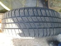 ONE MITCHELIN TYRE SIZE 185/55 VERY GOOD CONIDITION