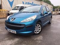 Peugeot 1.4 207 2 owner one year mot