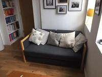 Vintage Danish two-seater sofa bed £225 ono