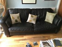 Leather Suite Free to Good Home
