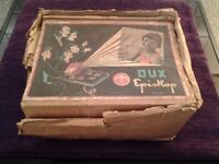 Vintage Dux Episcop NO49 Brown Bakelite Episcope Opaque Object Page Projector-Rare-Collector's Item