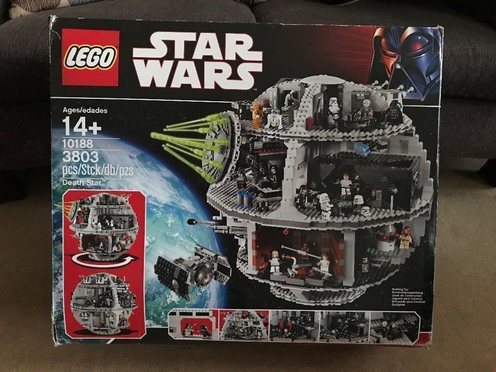 Lego 10188 Death Star Ultimate Collection Series Usc Complete