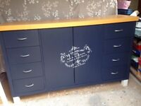 Upcycled lovely sideboard