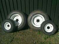 Compact Tractor Turf Tyres