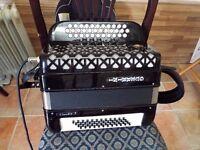 a 3 row BC C Sharp this box is midied accordion