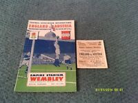 WANTED Pre 1970 Football Programmes & Tickets & Other Sporting Memorabilia