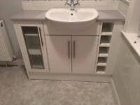 Sink and Vanity Unit (TAPS NOT INCLUDED) COLLECT ONLY - PRICE OPEN TO OFFERS