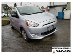 2015 Mitsubishi Mirage ES Plus Package! Local & No accidents!