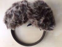 BRAND NEW M&S Leopard Print Ear Muffs