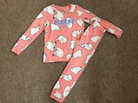 New next girls pyjamas age 6 yrs