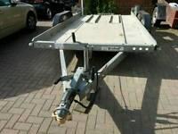 Brian James car trailer aluminium 2012