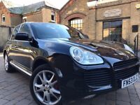 PORSCHE CAYENNE 4.5 V8 TURBO TIPRONIC S **0-60 ONLY IN 5 SEC**FULL SH**HPI CLEAR**