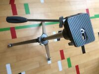 Velbon VE 3 heavy duty elevator tripod in original box