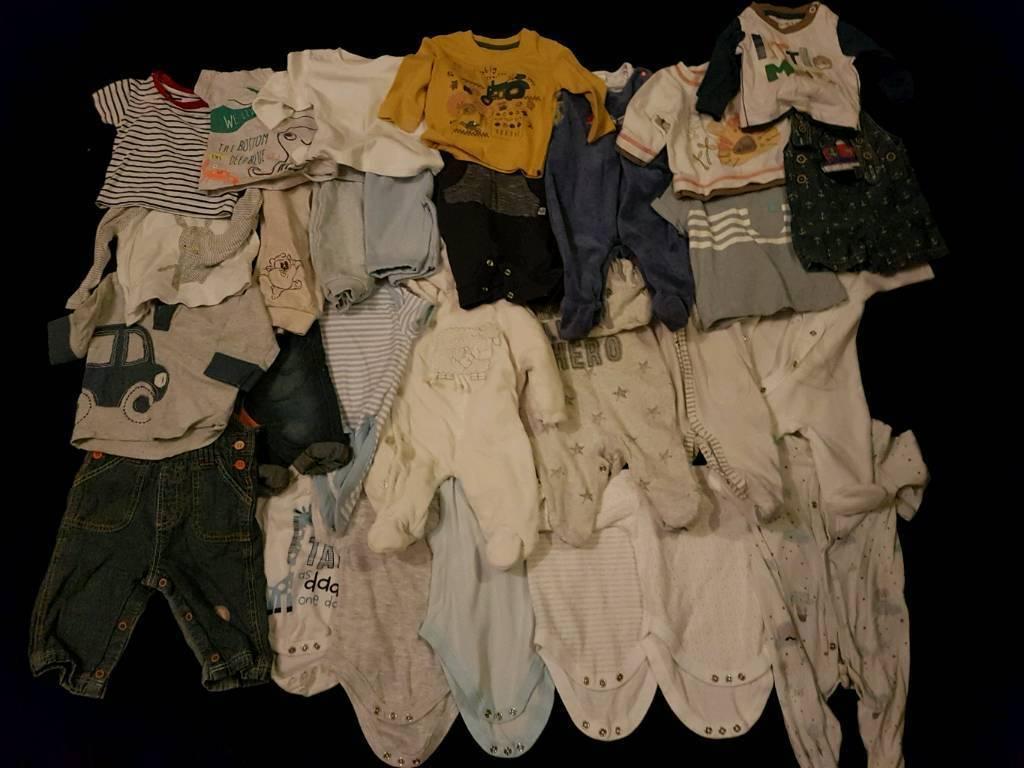 Bulk Lot Boys 0-3m Clothes. More Sizes Available Check Description