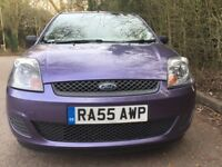 Ford Fiesta 2006-1.2-65000 miles-FSH-One Lady Owner