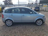 2001 Audi A2 1.4 Fsi mini mpv aluminium high spec low mileage