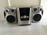WITHIN 1 STEREO SYSTEM 5 CD PLAYER 2 TAPE RADIO