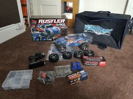 Brand new traxxas rustler vxl and accesorries