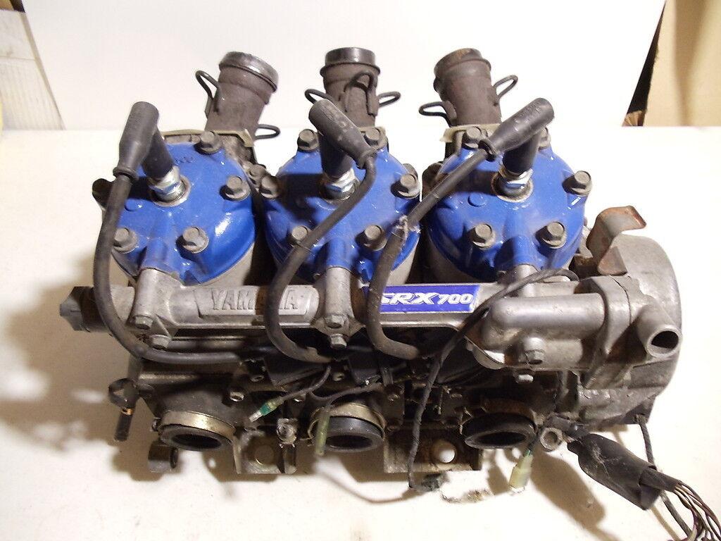 1998 Yamaha SRX 700 SRX700 Snowmobile Engine Motor Complete Long Block