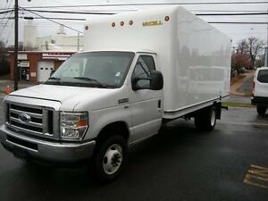 2016 Ford E-Series Cube Van E350 16' Cube Van - Limited time off