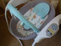 Graco baby swing in immaculate condition