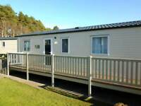 CARAVAN TO RENT@ SUNDRUM CASTLE, AYRSHIRE, PET FRIENDLY, LINEN INCLUDED, DEPOSIT SECURES A BOOKING.
