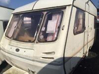 Eccles 4 berth caravan SWIFT ABI lightweight CAN DELIVER