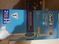 Oral b vitality plus electric toothbrush