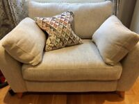 Cuddle Sofa - Brand New - 1 and a half seater (never been used)