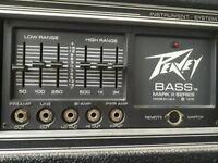 Peavey 400W Bass Guitar Amp Stack, MkIII head, 4x10 cab